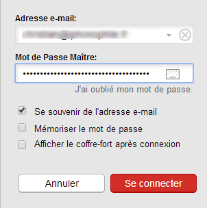 Connecte LastPass