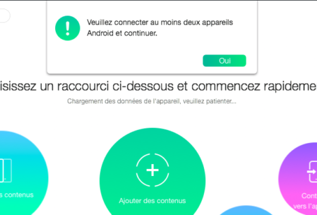 Cloner deux mobiles avec AnyTrans for Android