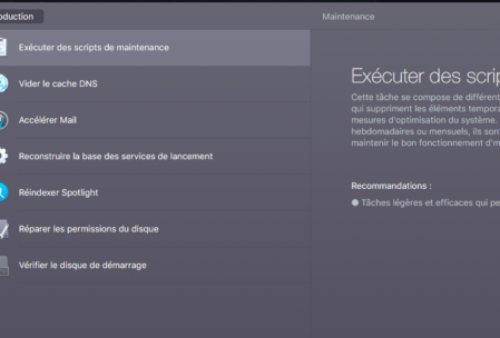 Module maintenance de CleanMyMac 3