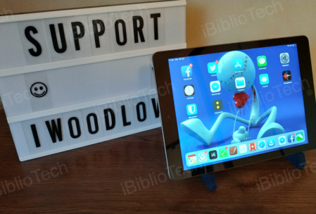 iPad sur son support Imoodlove